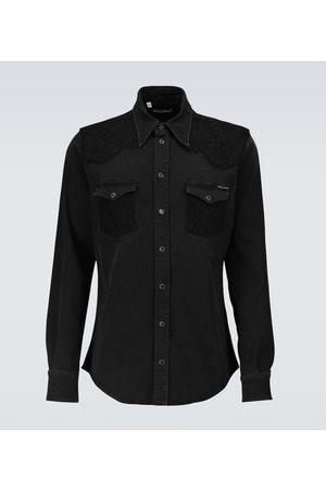 Dolce & Gabbana Long-sleeved denim shirt