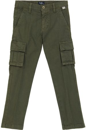 Il gufo Miehet Reisitaskuhousut - Stretch-cotton cargo pants