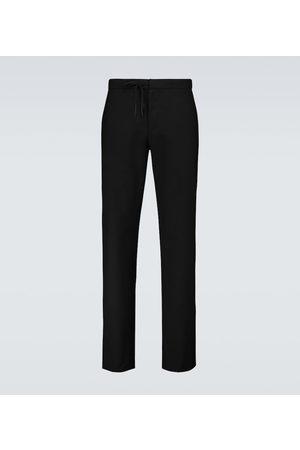 Maison Margiela Miehet Housut - Wool drawstring pants