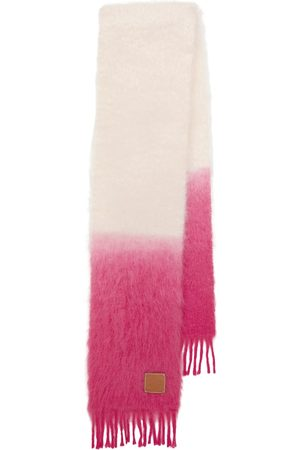 Loewe Dip-dyed mohair-blend knit scarf