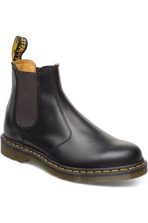 Dr. Martens 2976 Ys Black Smooth Shoes Chelsea Boots