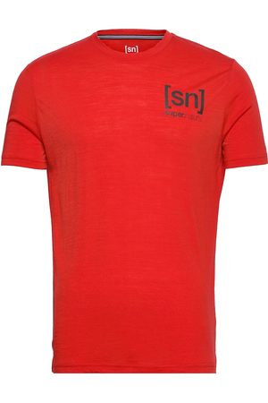 super.natural M Active Tee Base Layer Tops Vaaleanpunainen