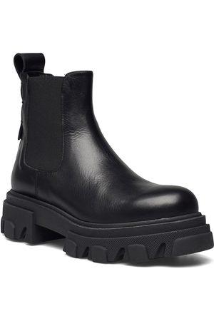Apair Mega Chuncky Elastic Short Shoes Chelsea Boots