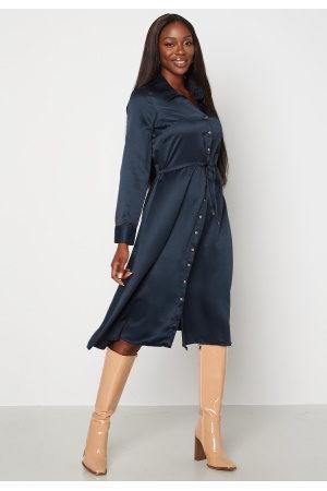 Chiara Forthi Naiset Juhlamekot - Pauline shirt dress Dark blue 38