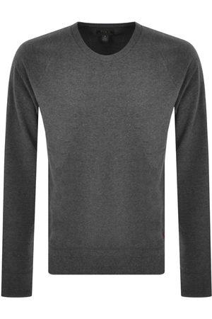 Ralph Lauren Miehet Pitkähihaiset - Loungewear Long Sleeved T Shirt Grey