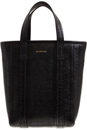 BALENCIAGA Small North-south Leather Shopper Bag