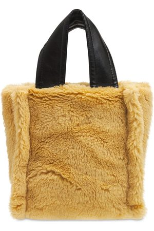 STAND STUDIO Lucille Wool & Acrylic Tote Bag