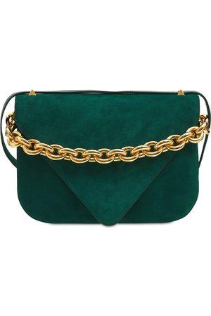 Bottega Veneta Medium Mount Suede Shoulder Bag