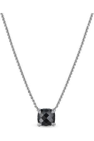 David Yurman Chatelaine diamond pendant necklace