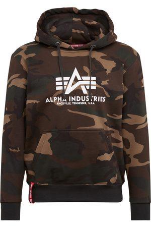 Alpha Industries Collegepaita 'Basic Hoody Camo