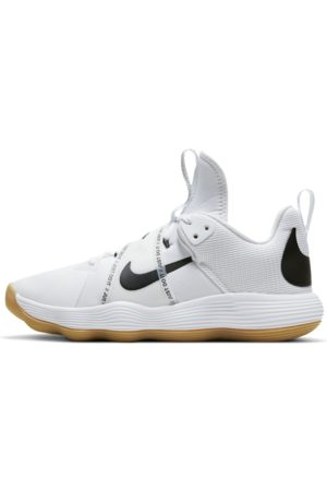 Nike Kengät - React HyperSet Indoor Court Shoe - White