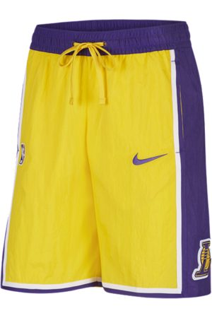 Nike Los Angeles Lakers Courtside Heritage Men's NBA Shorts - Yellow