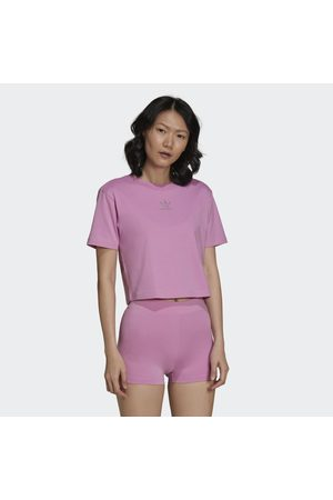 adidas 2000 Luxe Cropped Tee