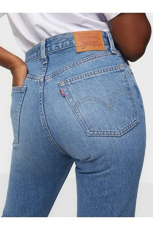 Levis Naiset Suorat - 501 Crop Athens Day to Day