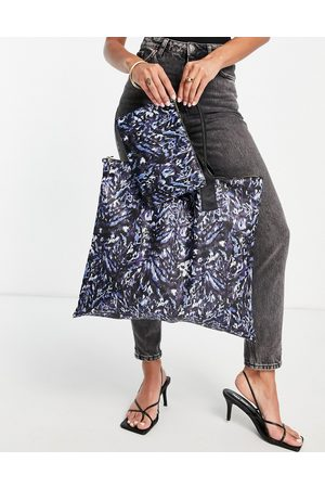 Ted Baker Nillia nylon foldable tote bag-Blue