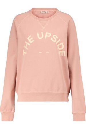 THE UPSIDE Bondi cotton-jersey sweatshirt