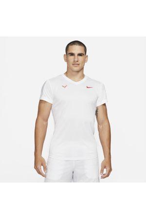 Nike Rafa Challenger Men's Short-Sleeve Tennis Top - White