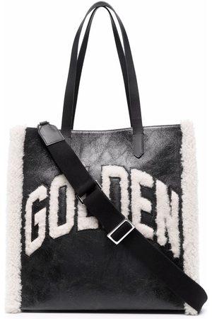 Golden Goose California faux-shearling tote bag