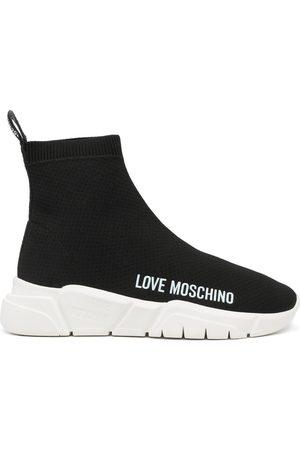 Love Moschino Logo-print slip-on sneakers