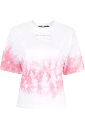 Karl Lagerfeld Tie-dye cotton T-shirt