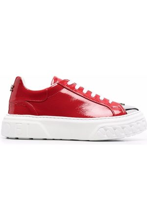 Casadei Naiset Tennarit - Off Road leather sneakers