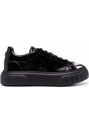 Casadei Naiset Tennarit - Off road New Cult leather sneakers
