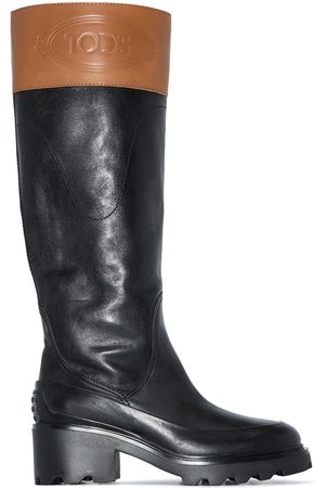 Tod's Naiset Ylipolvensaappaat - Wagon 60mm knee-high boots