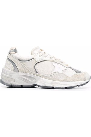 Golden Goose Naiset Tennarit - Panelled leather trainers