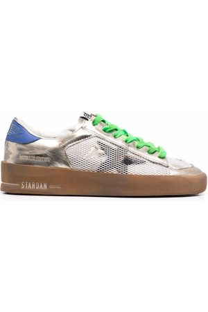 Golden Goose Naiset Tennarit - Stardan colour-block leather sneakers