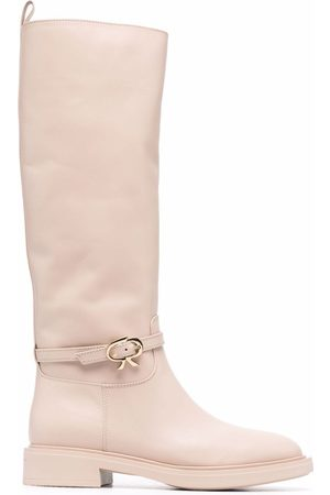 Gianvito Rossi Naiset Ylipolvensaappaat - Knee-lengh leather boots