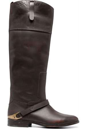 Golden Goose Naiset Ylipolvensaappaat - Knee-length leather boots