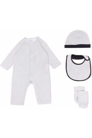 Emporio Armani Kids Setit - Logo print babywear set