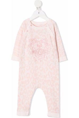 Kenzo Leopard-print cotton pajamas