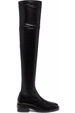 VALENTINO GARAVANI Naiset Ylipolvensaappaat - Rockstud thigh-high boots