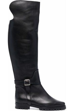 Manolo Blahnik Tarama knee high boots