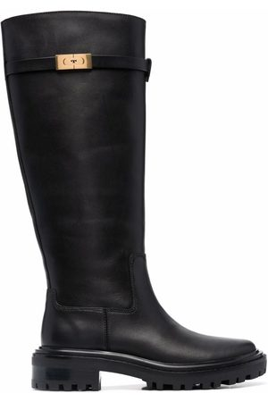 Tory Burch Knee-length leather boots