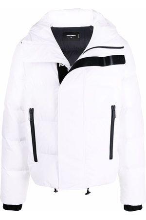 Dsquared2 Logo-strap padded jacket