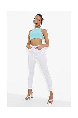 Boohoo 5 Pocket High Waist Skinny Jeans
