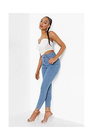 Boohoo High Waist Skinny Jean