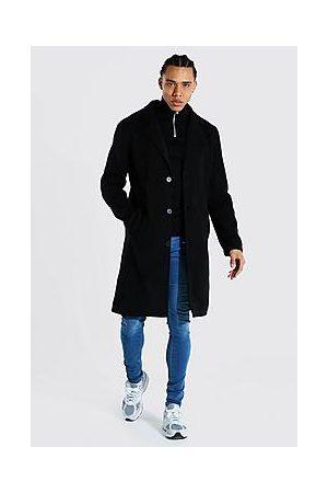Boohoo Tall Summer Wool Overcoat