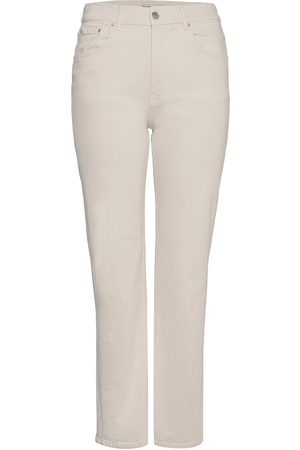 Gina Tricot 90s High Waist Jeans Suoralahkeiset Housut