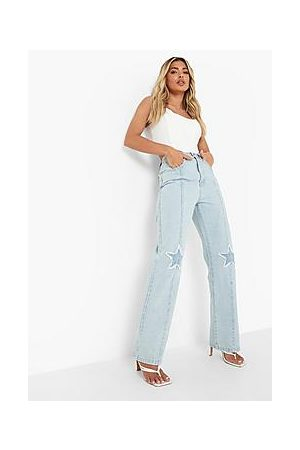 Boohoo Star Seamed Boyfriend Fit Jeans