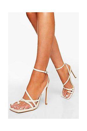 Boohoo Asymmetric Strappy Sandal