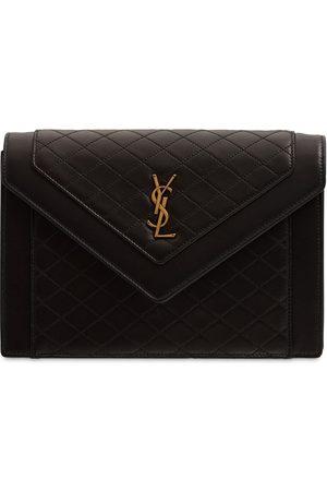 Saint Laurent Naiset Olkalaukut - Gaby Leather Satchel Bag