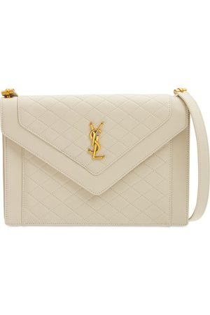 Saint Laurent Gaby Leather Satchel Bag