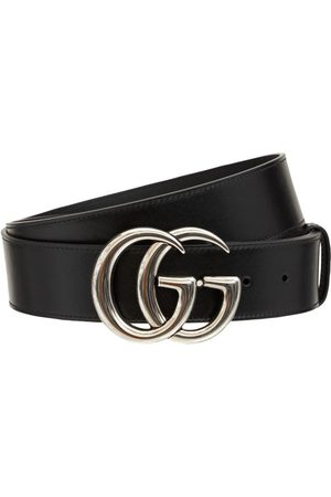 Gucci 4cm Gg Marmont Leather Belt