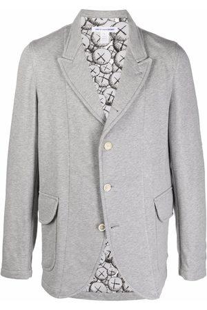 Comme des Garçons Miehet Bleiserit - Single-breasted pouch-pocket blazer