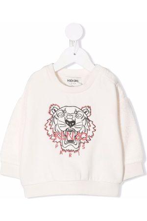 Kenzo Collegepaidat - Logo print sweatshirt