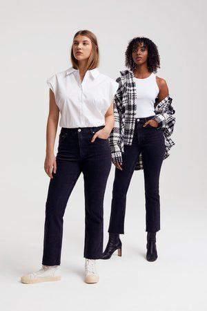 Gina Tricot Ylva kick flare jeans