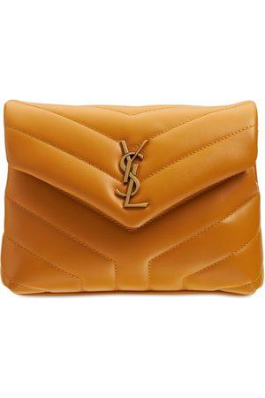 SAINT LAURENT Toy Loulou Leather Monogram Bag
